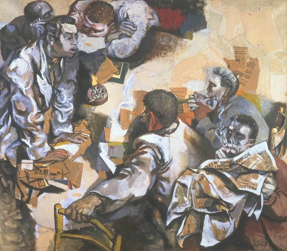 Дискуссия - Ренато Гуттузо (1960)