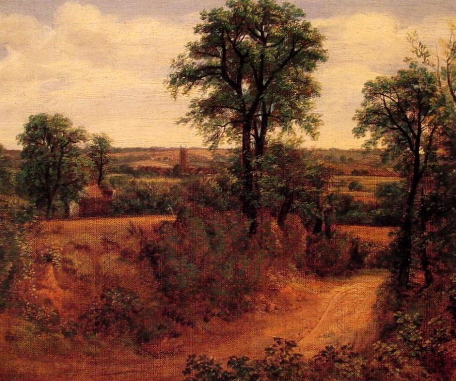 Дорога близ Дедхэма - Джон Констебл (1802)