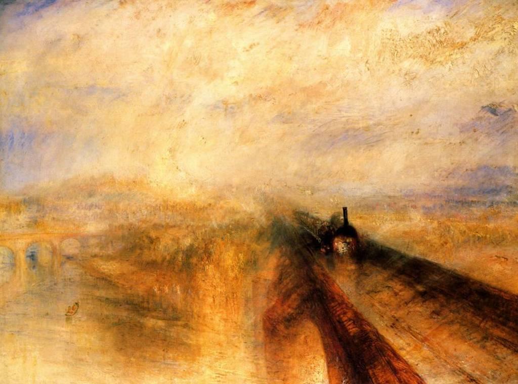 Дождь пар и скорость, Большая Западная Железная дорога - Уильям Тёрнер (1844)