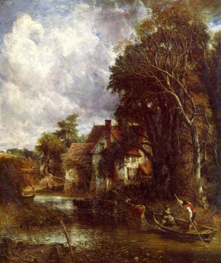 Ферма в долине - Джон Констебл (1835, Национальная галерея, Лондон)