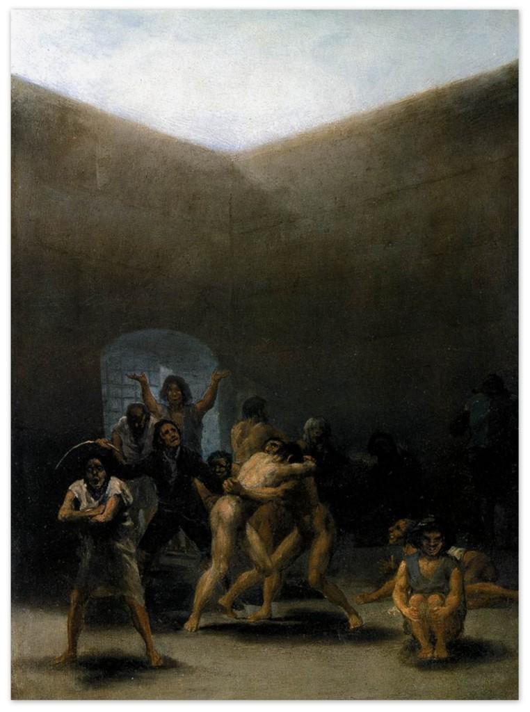 Франсиско Гойя - Двор дурдом (1794)