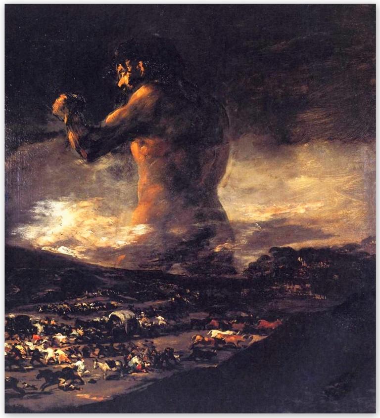 Франсиско Гойя - Колосс (1808 - 1812)