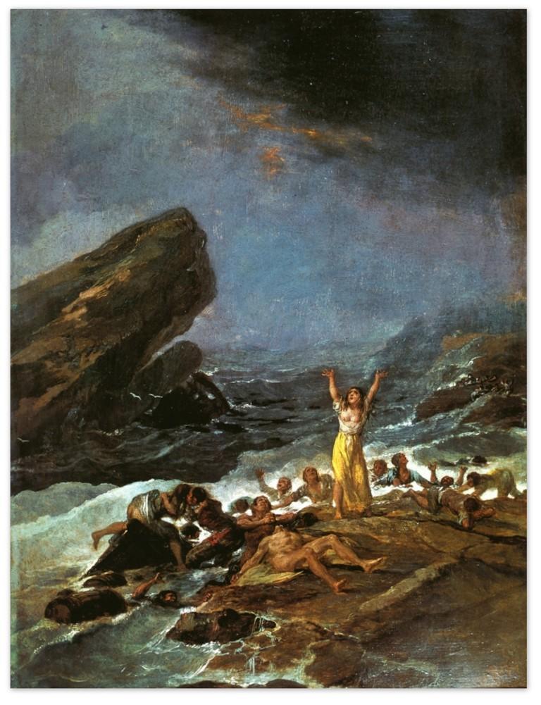 Франсиско Гойя - Кораблекрушение (1793 -1794)