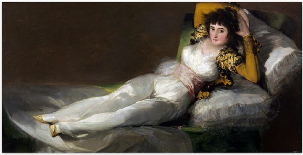 Франсиско Гойя - Маха одетая (1800)