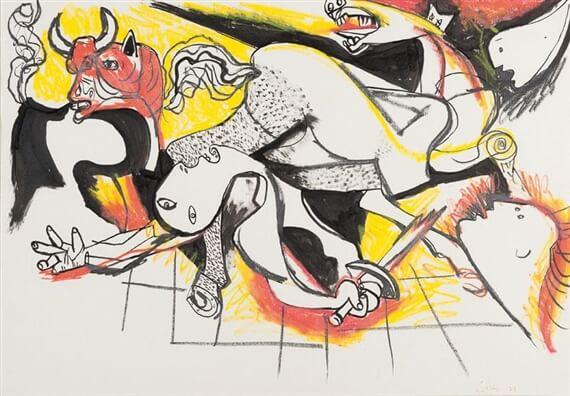 Герника - Ренато Гуттузо (1973)