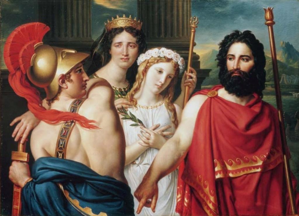 Гнев Ахиллеса - Жак Луи Давид (1819)