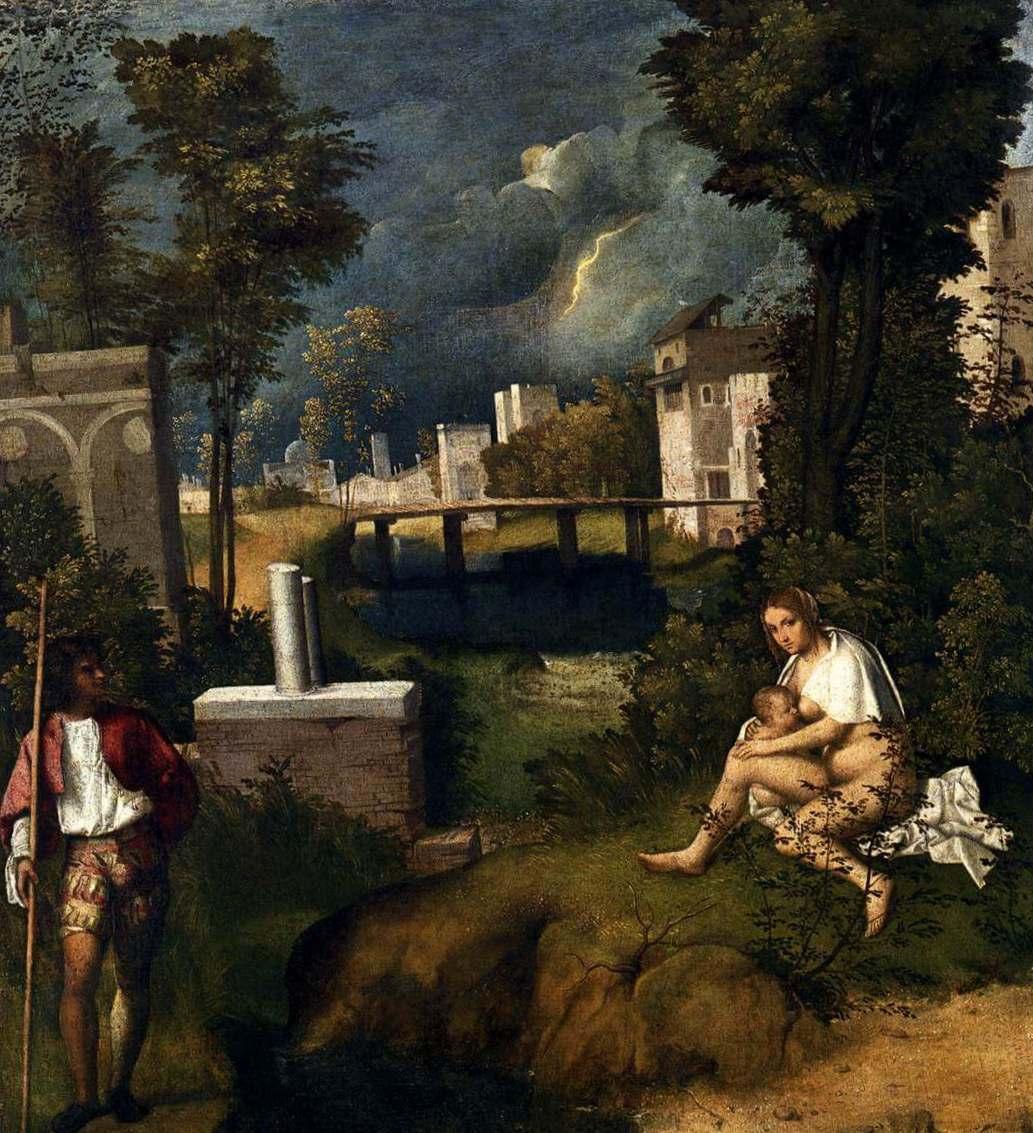 Гроза - Джорджоне (ок. 1506)