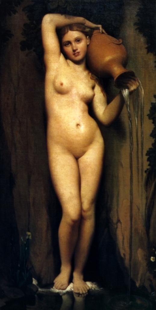 Источник - Жан Огюст Доминик Энгр (1859-1863, Лувр, Париж)