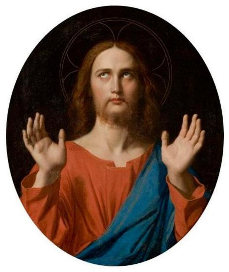 Христос - Жан Огюст Доминик Энгр (1834)