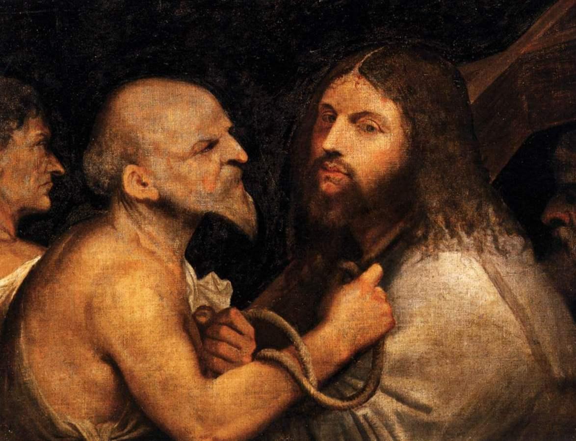 Христос, несущий крест - Джорджоне (1506-1507,Сан-Рокко, Венеция)