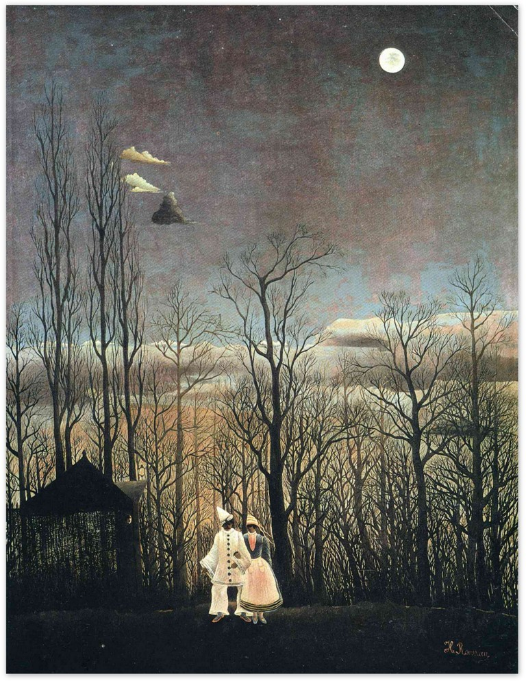 Карнавальный вечер - Анри Руссо (1885 - 1886)