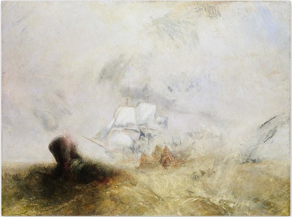 Китобойное судно - Уильям Тернер (около 1845 г.)