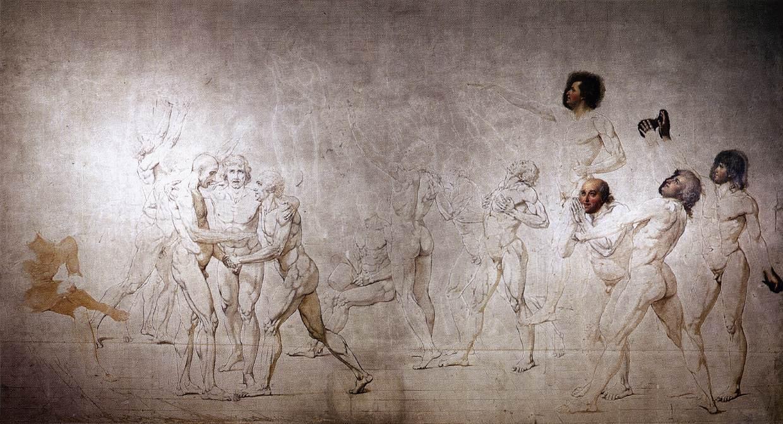 Клятва Паллакорды - Жак Луи Давид (1790, Версаль)