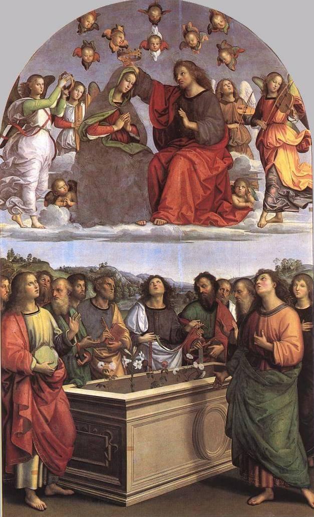 Коронация Девы Марии - Рафаэль Санти (1502-1503, Музеи Ватикана)