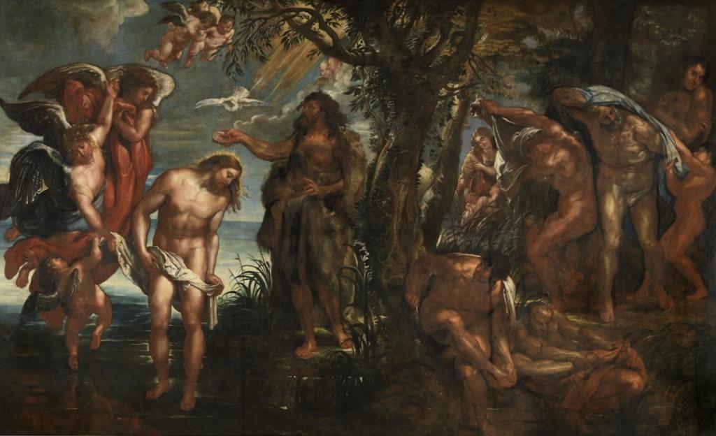 Крещение - Питер Пауль Рубенс (1604—1606, Королевские музеи изящных искусств, Антверпен)