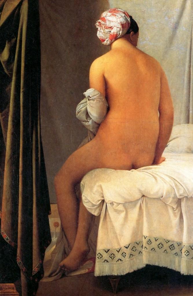 Купальщица Вальпинсона - Жан Огюст Доминик Энгр (1808)