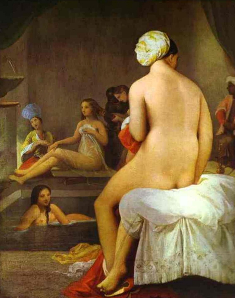 Купальщица - Жан Огюст Доминик Энгр (1828)