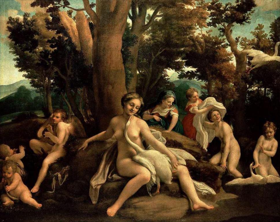 Антонио Корреджо, творчество и картины художника