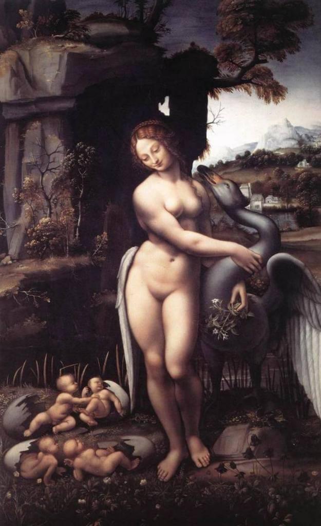Леда - Леонардо да Винчи (1510)