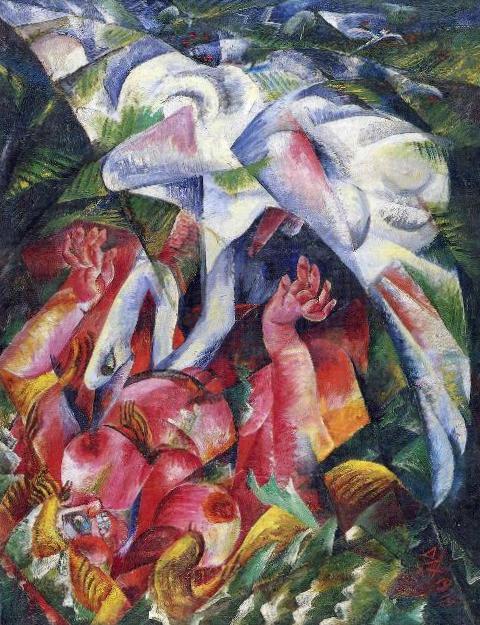 Леда- Отто Дикс (1919)