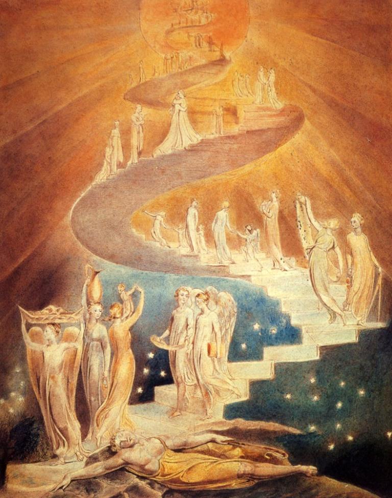 Лестница Якоба - Уильям Блейк (1799-1806)