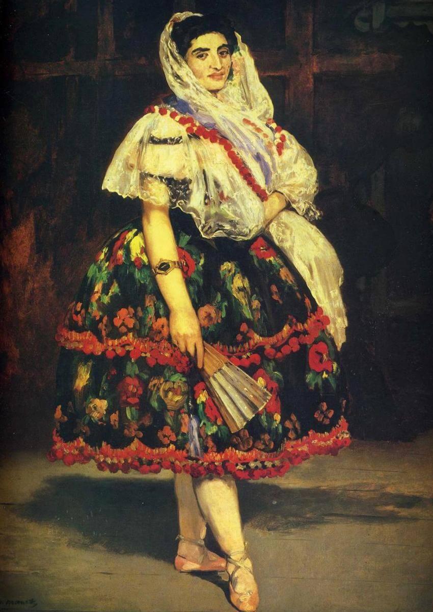 Лола из Валенсии - Эдуар Мане (1862)
