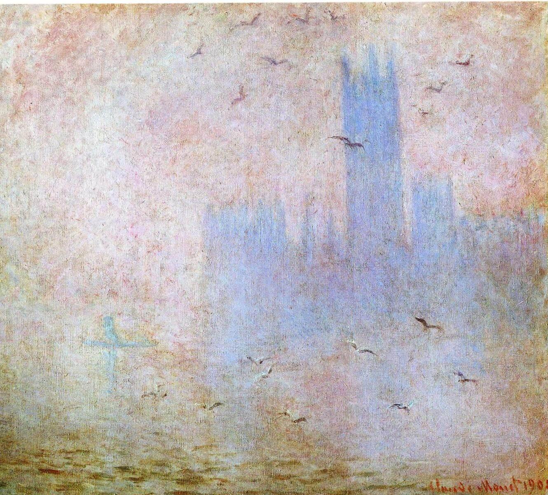 Лондон, Парламент - Клод Моне (1904)