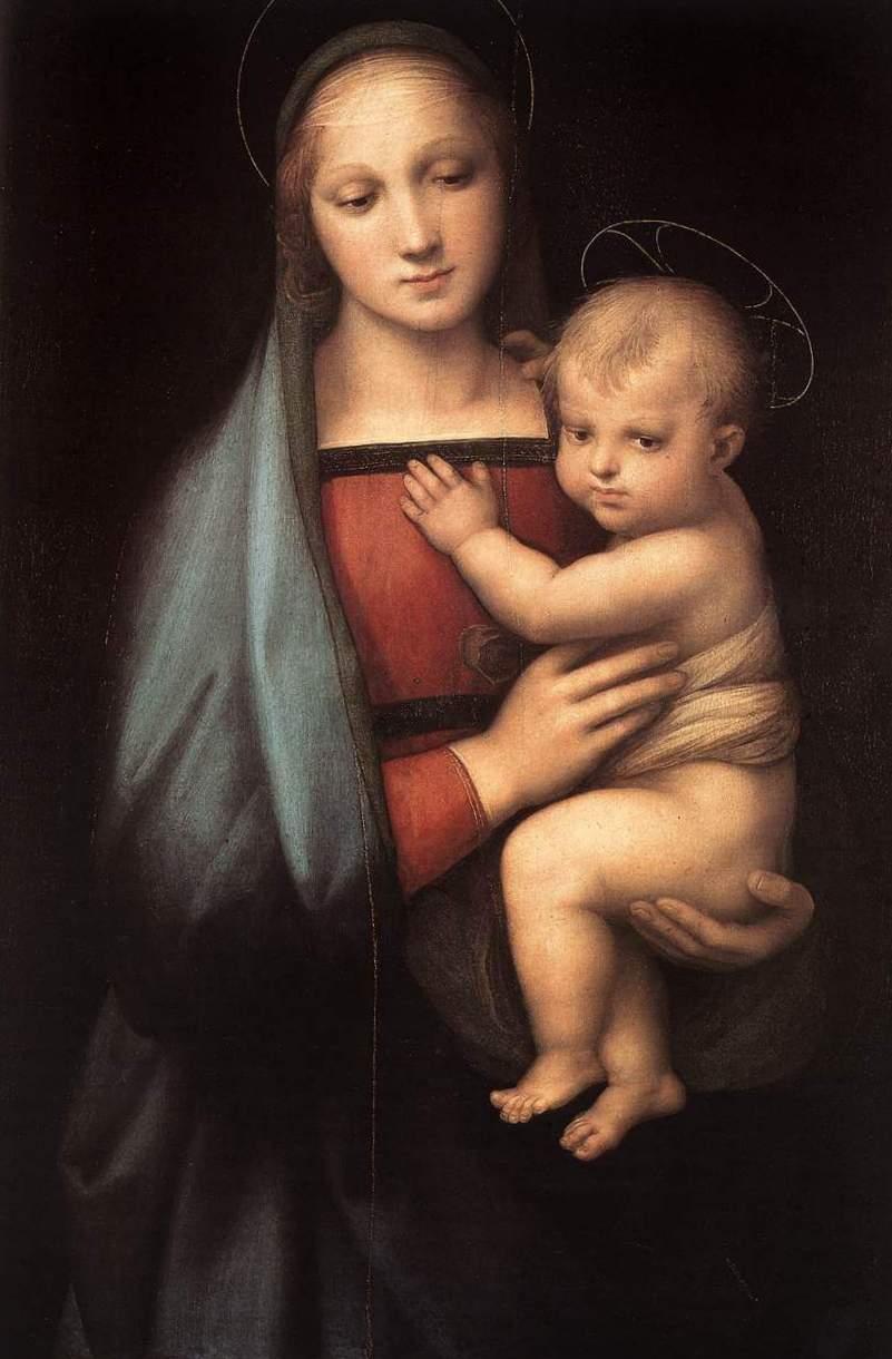 Мадонна Грандука - Рафаэль Санти (1504 - 1505, Палаццо Питти, Флоренция),