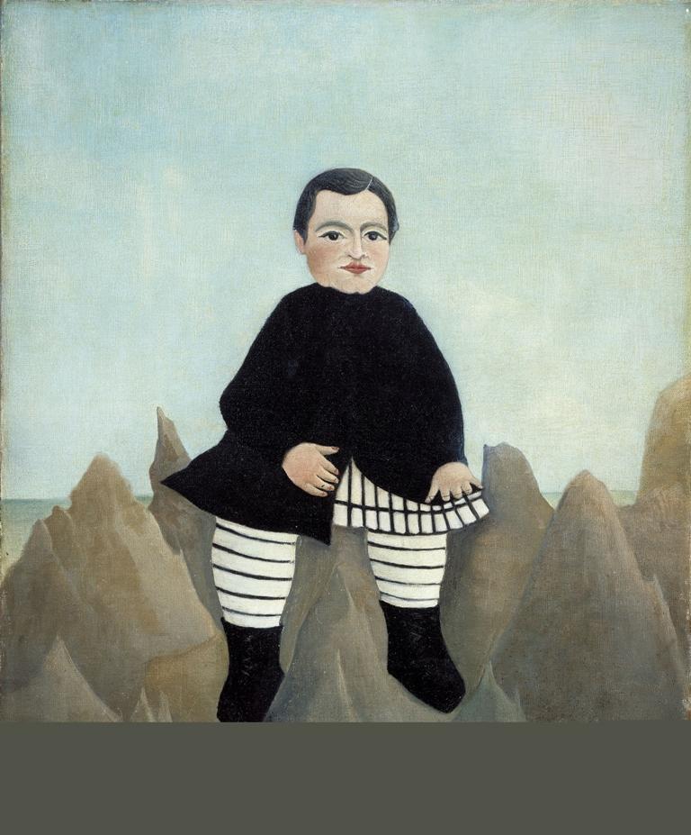 Мальчик на скалах - Анри Руссо(1895)