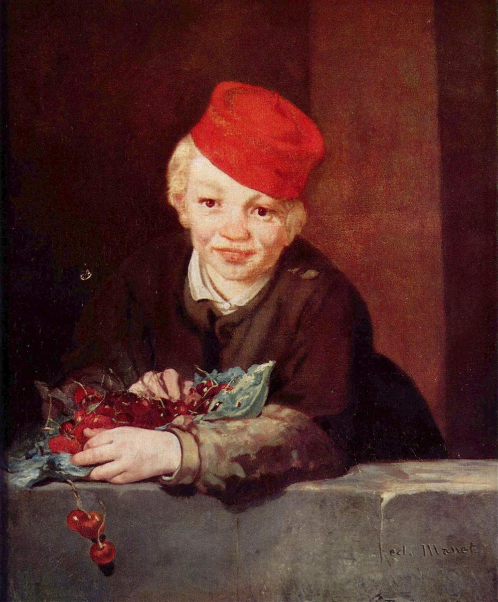 Мальчик с вишнями - Эдуард Мане