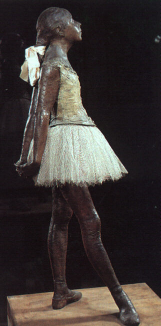 Маленькая танцовщица четырнадцати лет - Эдгар Дега (1881)