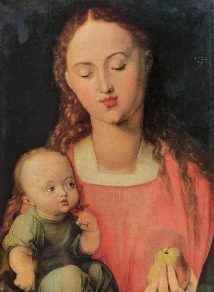 Мария с ребенком - Альбрехт Дюре (1526)