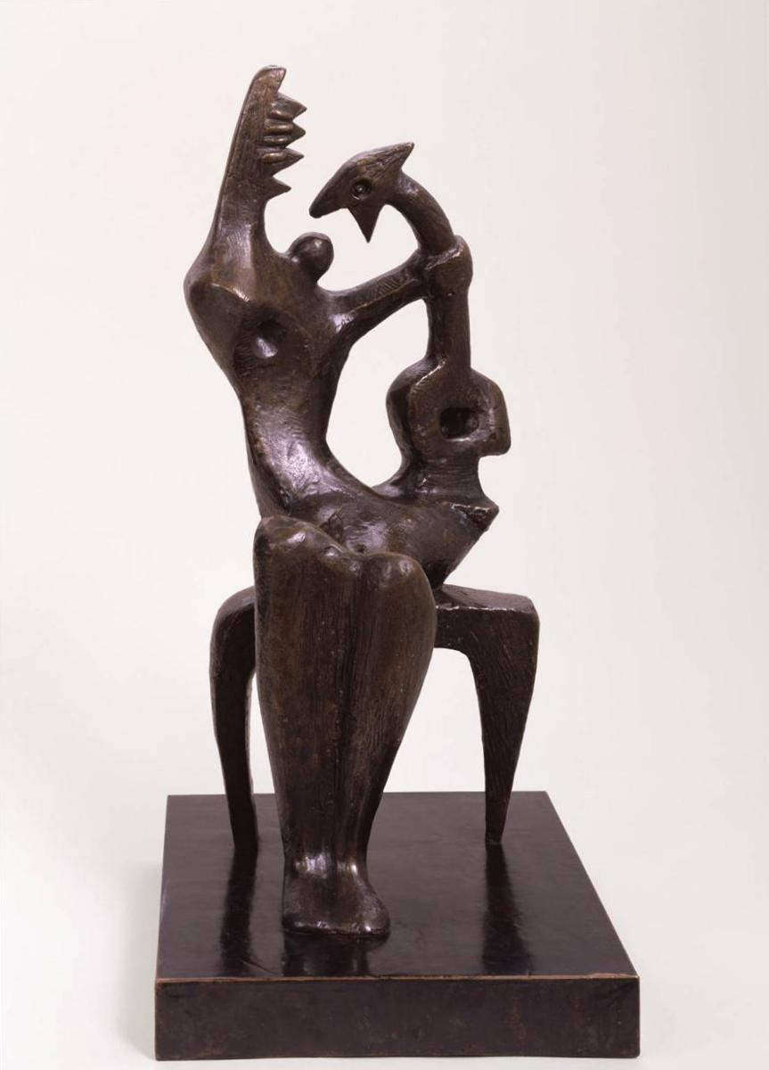 Мать и ребенок Генри Мур (1953)