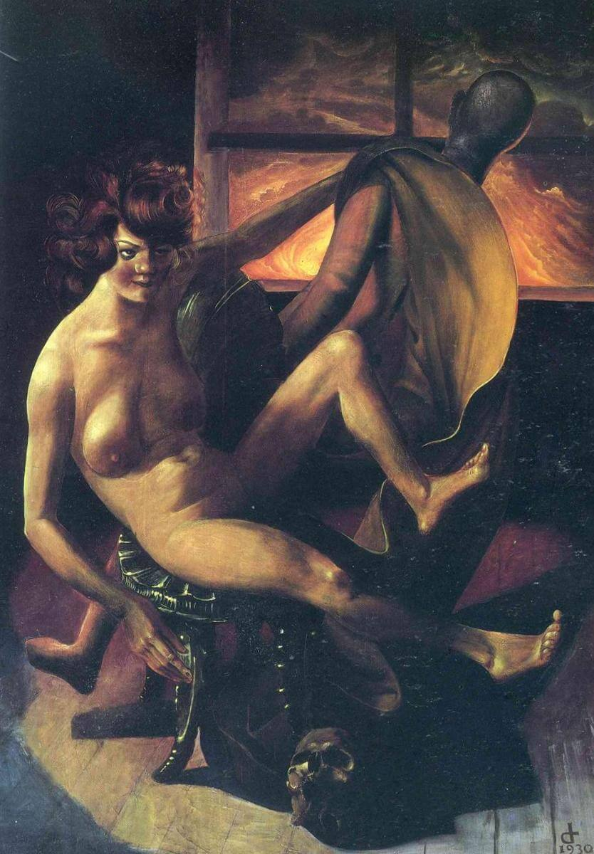 Меланхолия - Отто Дикс (1930)