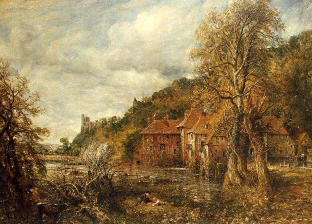 Мельница и замок Арундел - Джон Констебл (1837)