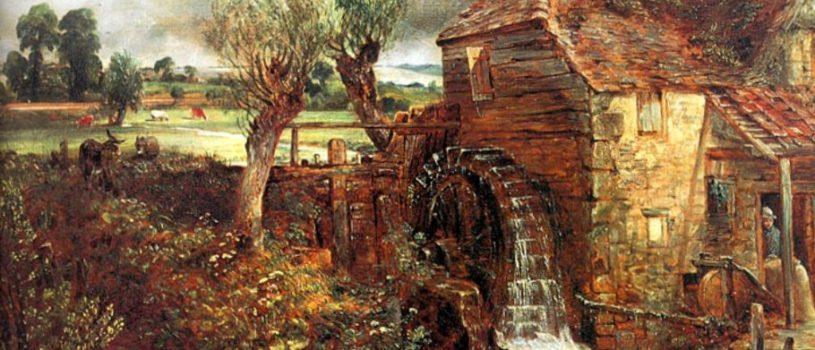 Джон Констебл, легкая и лиричная живопись