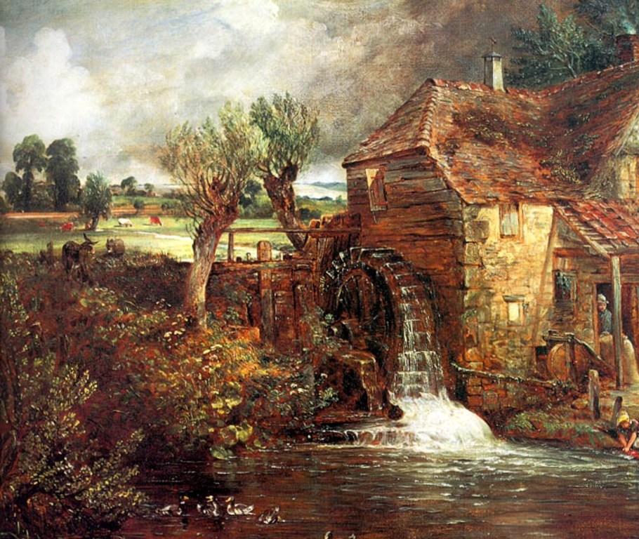 Мельница в Джиллингеме - Джон Констебл (1825)