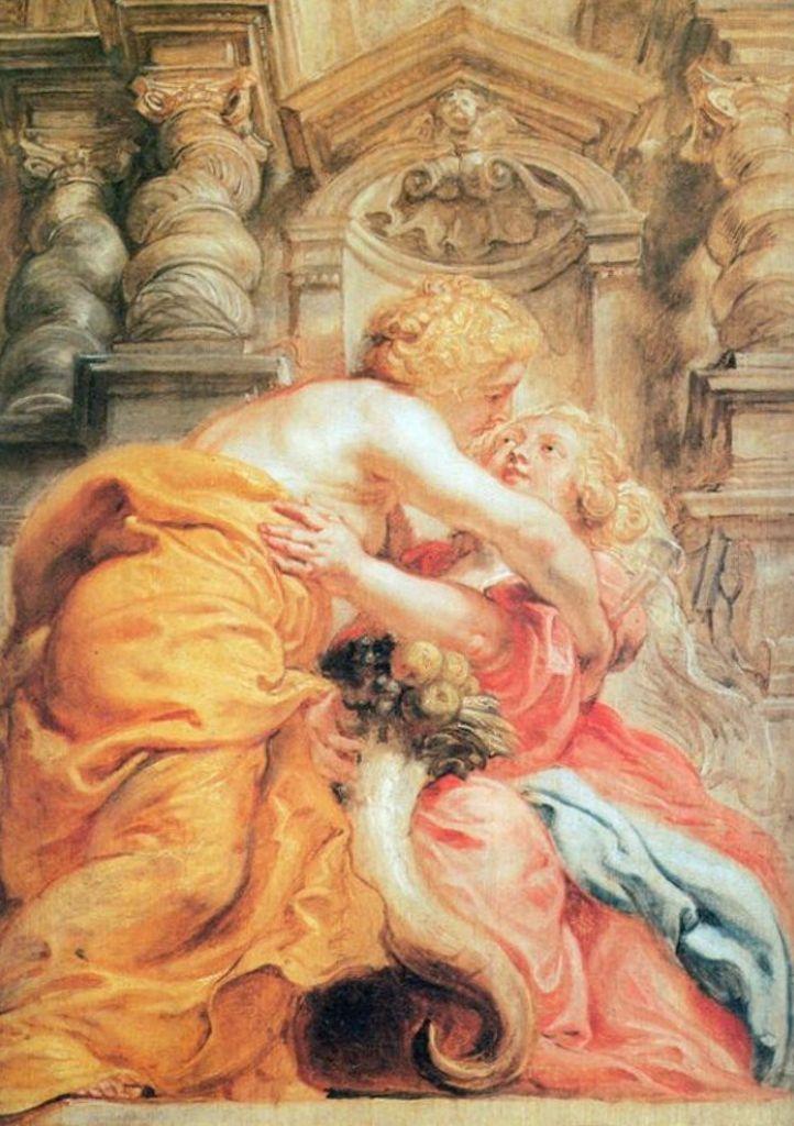 Мир и Изобилие - Питер Пауль Рубенс (ок. 1633-1634)