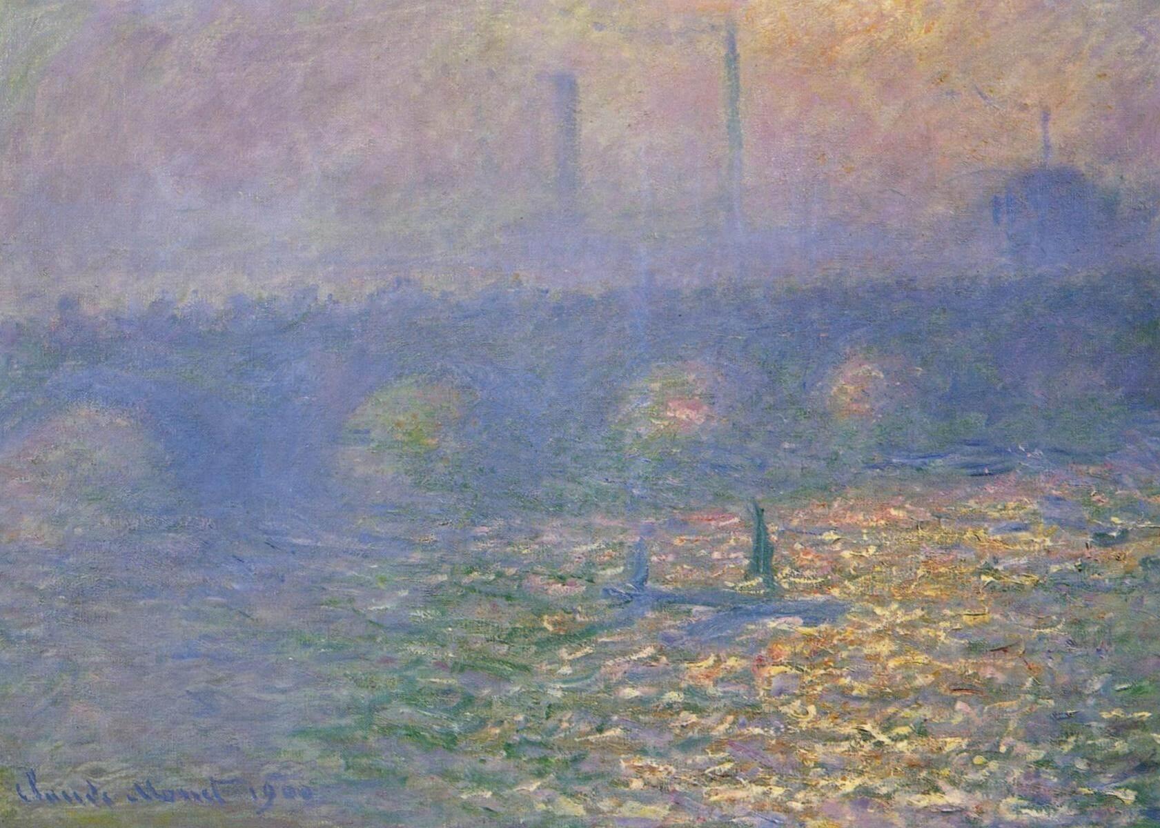 Мост Ватерлоо, Лондон - Клод Моне (1900)