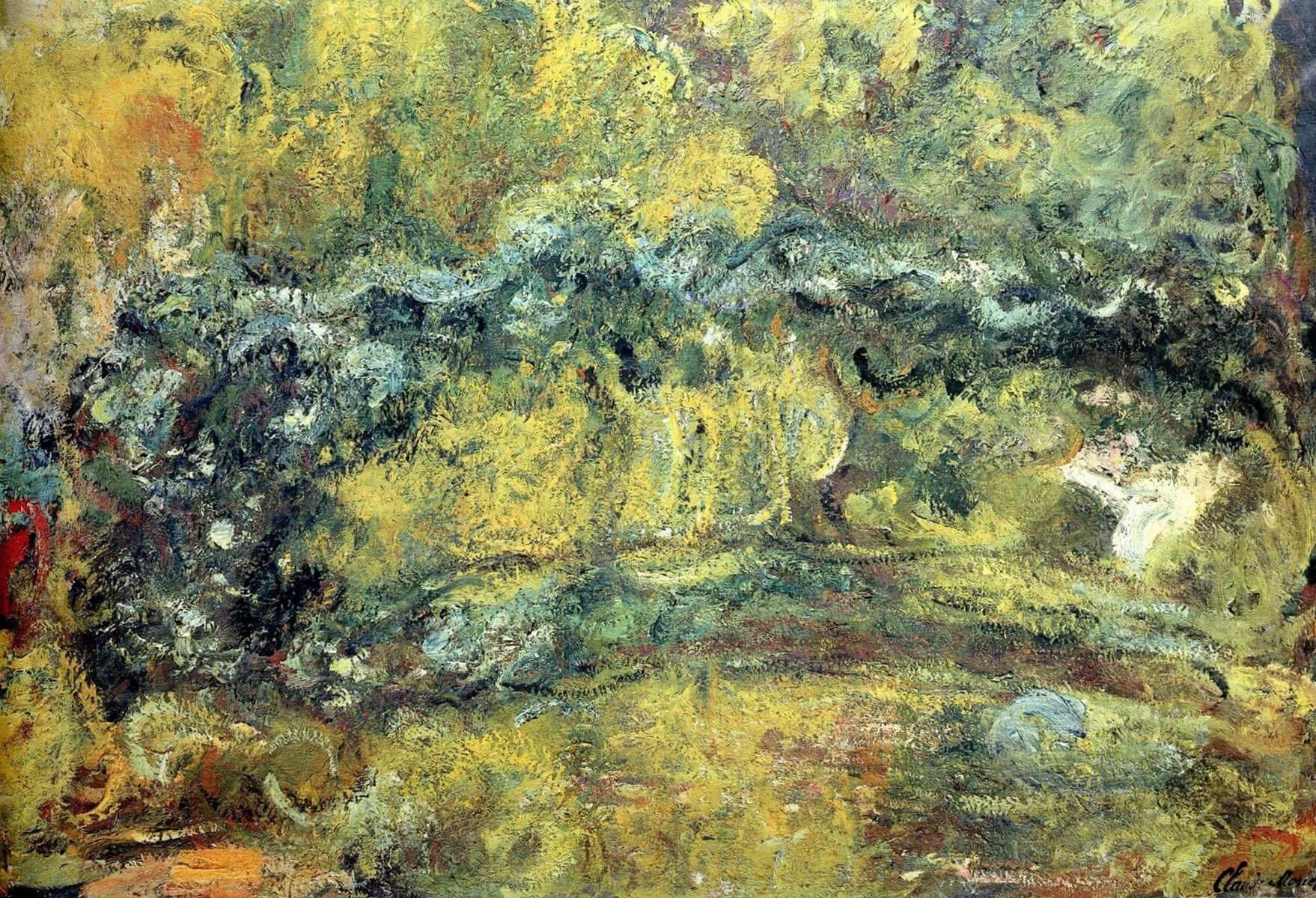Мостик над кувшинками - Клод Моне (1918 - 1924)