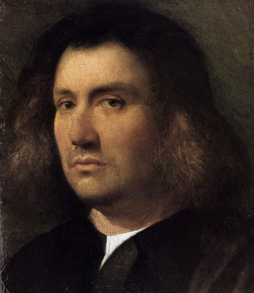 Мужской портрет - Джорджоне (ок. 1508, Художественная галерея, Сан-Диего, Калифорния)