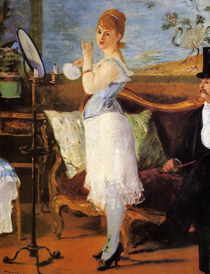 «Нана» - Эдуар Мане (1877, Кунстхалле, Гамбург)