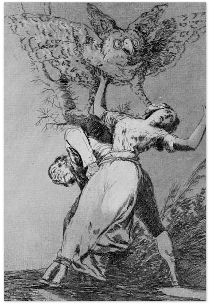 """Неужели нас никто не развяжет? Серия """"Капричос"""" - Франсиско Гойя (1793-1797)"""