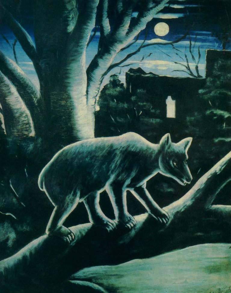 Нико Пиросмани - Медведь в лунном свете