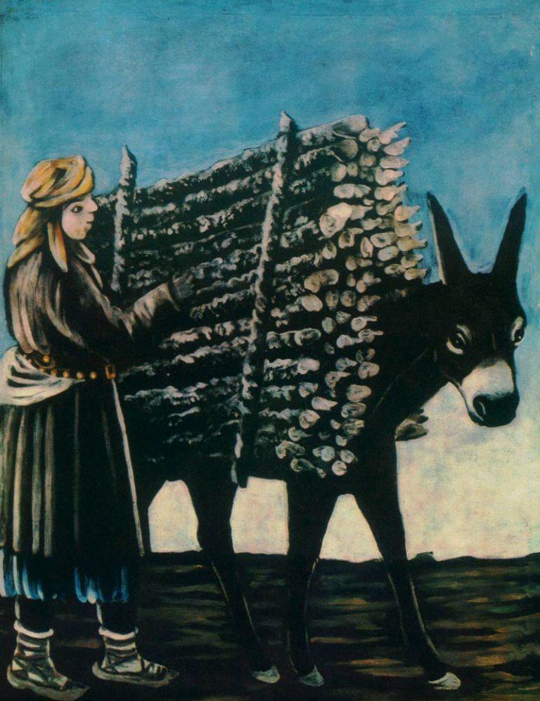 Нико Пиросмани - Продавец дров