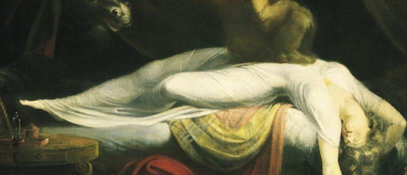 Ночные кошмары в картинах Генриха Фюссли