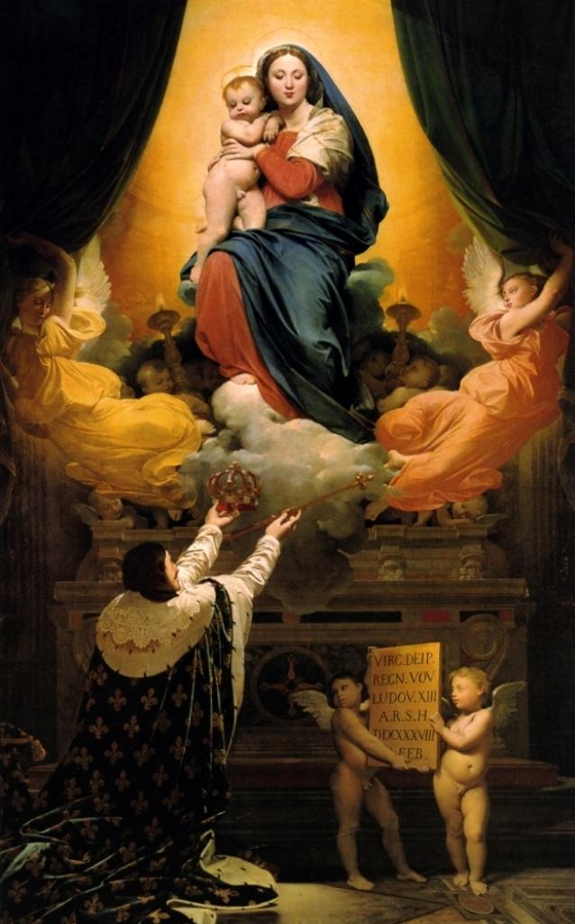 Обед Людовика XIII - Жан Огюст Доминик Энгр (1824, собор, Монтобан)