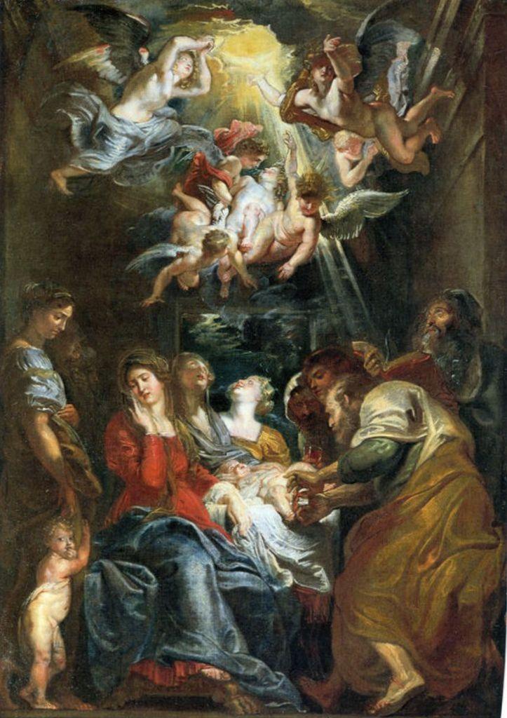 Обрезание - Питер Пауль Рубенс (1606, Сант-Амброджо, Генуя)