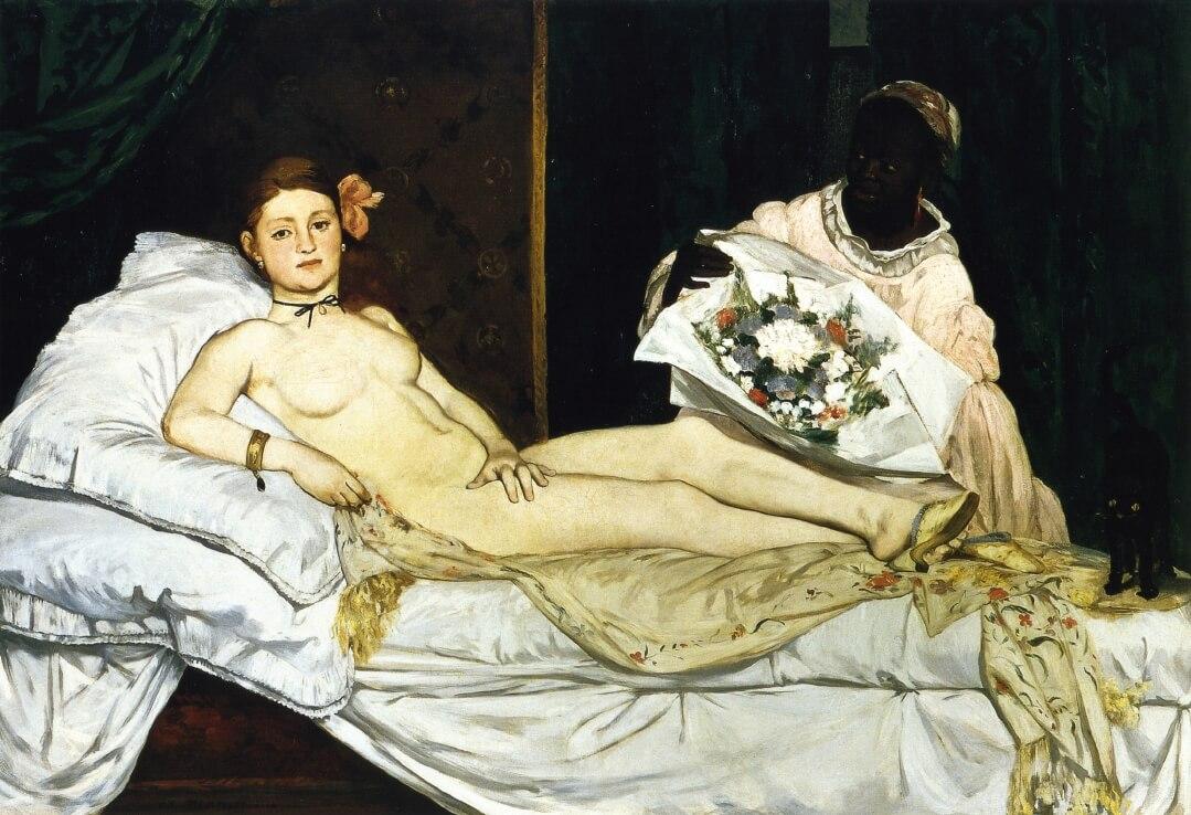 «Олимпия» - Эдуар Мане (1863)
