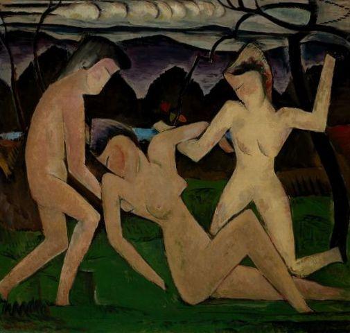 Отъезд летом - Ман Рэй (1914)